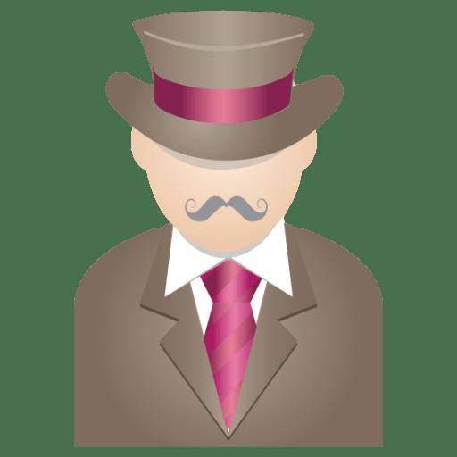 Gentleman icon