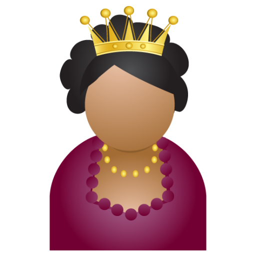Miss-crown icon