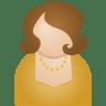 Brown-woman icon