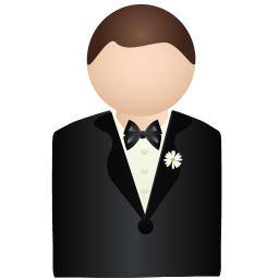 Groom Icon Wedding Iconset Dapino