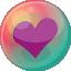 Heart-purple-2 icon