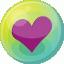 Heart-purple-5 icon