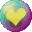 Heart-yellow-3 icon