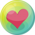 Heart-pink-5 icon