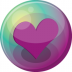 Heart-purple-3 icon