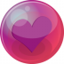 Heart-purple-6 icon