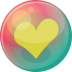 Heart-yellow-2 icon
