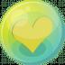 Heart-yellow-5 icon