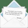 Mail-open-envelope-2 icon