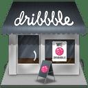 Dribbble-shop icon