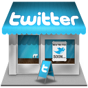 Twitter shop icon