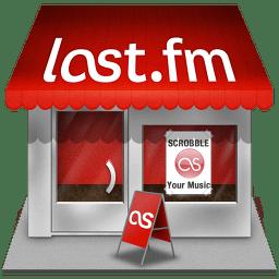 Lastfm shop icon