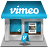 Vimeo shop icon