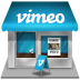 Vimeo-shop icon