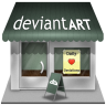 Deviantart-shop icon
