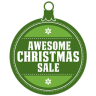 Awesome-christmas-sale icon