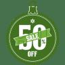 Sale-50-percent-off icon