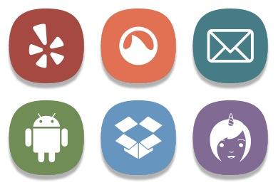 Cute Social 2014 Icons