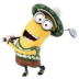 Minion-Playing-Golf icon