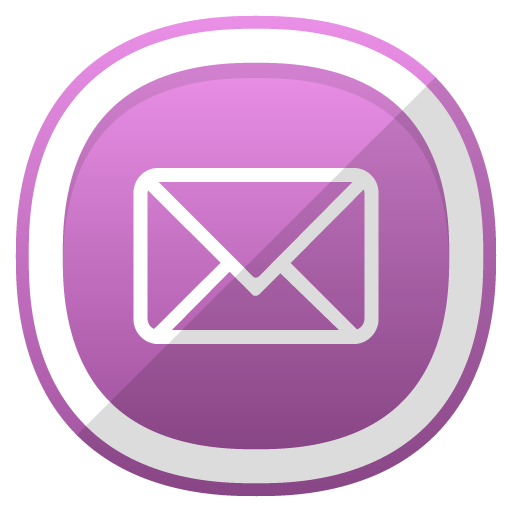 Email Icon Free Cute Shaded Social Iconset #0: Email icon