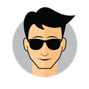 Male Avatar Cool Sunglasses icon