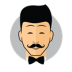 Male-Avatar-Bow-Tie icon