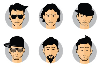Free Male Avatars Icons