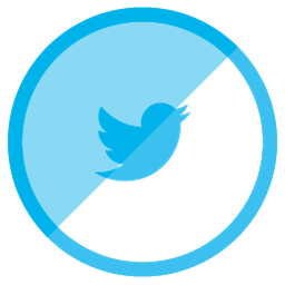 Twitter Icon Free Shaded Social Iconset Designbolts