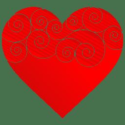 Heart Round Pattern icon