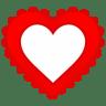 Heart-Border icon