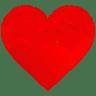 Heart-Round-Pattern icon