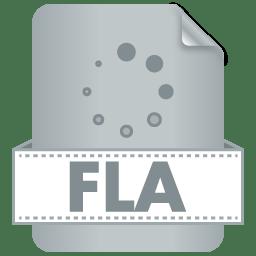 Filetype FLA icon