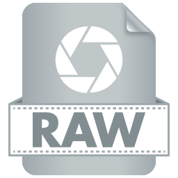 Filetype RAW icon