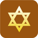 Judaism Star of David icon