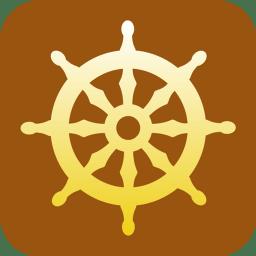 Buddhism Wheel of Dharma icon