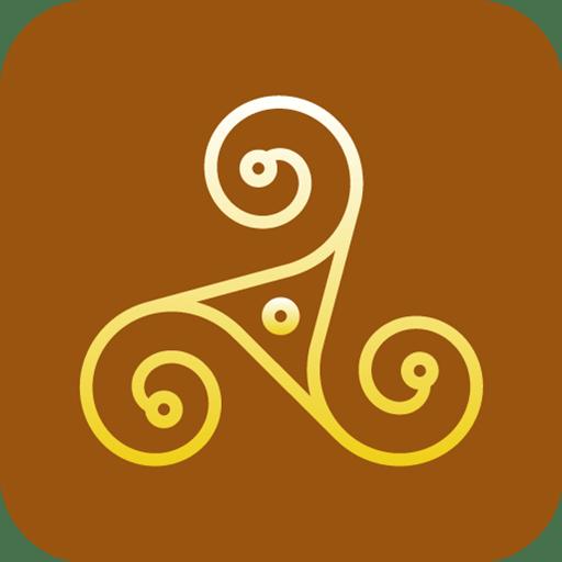 Paganism-Triskelion icon