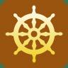 Buddhism-Wheel-of-Dharma icon