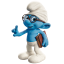 Brainy smurf icon