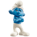 Grouchy-smurf icon