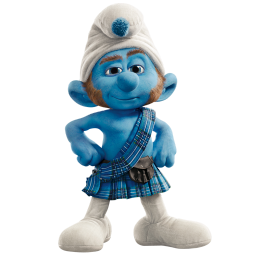 Gutsy smurf icon