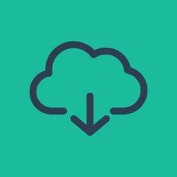 Download from Cloud Server icon