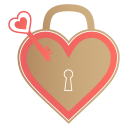 Unlock my heart icon