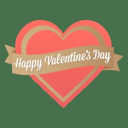 Happy valentines day icon