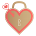 Unlock-my-heart icon