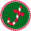 Christmas Candy Cane icon