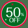 Christmas-50-Percent icon