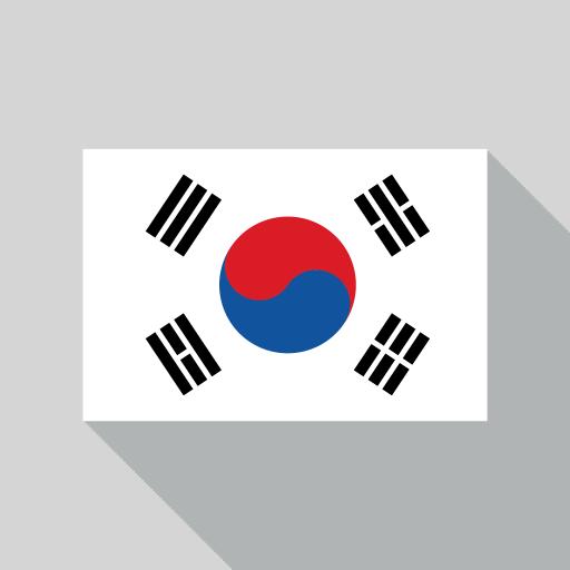 Korea Republic Flag icon