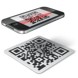 Qr code iphone icon