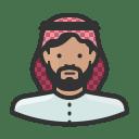 Muslim man icon