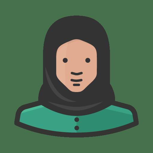 Muslim-woman icon